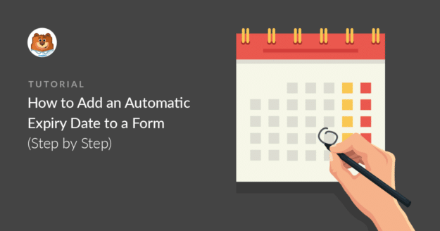 How to Schedule a Form Expiry Date