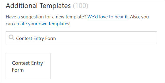 How To Create A Contest Entry Form In Wordpress Step By Step