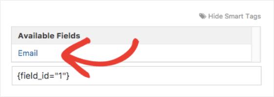 notification smart tags