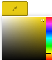 Color Scheme custom color picker