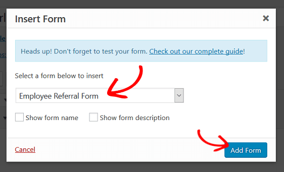 add employee referral form