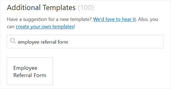 How to Create an Employee Referral Form in WordPress