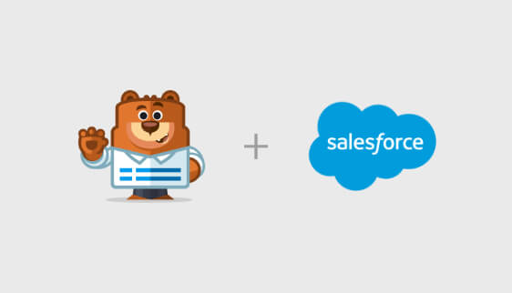 salesforce zapier integration with wpforms
