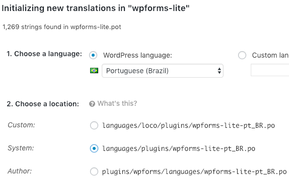 How to Translate WPForms into a Different Language