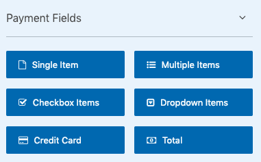 WPForms Payment Fields