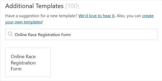 online race registration form template