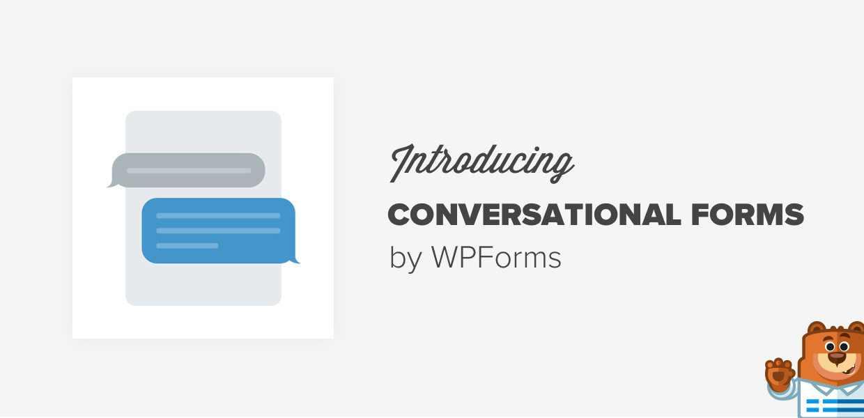 Introducing Conversational Forms by WPForms - Interactive Form