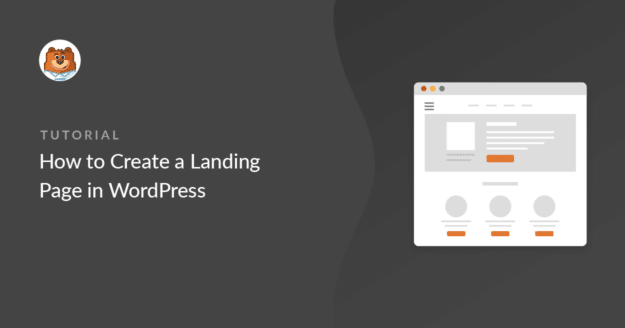 how-to-create-a-landing-page-in-wordpress