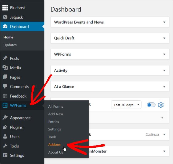 wpforms-dashboard-addons