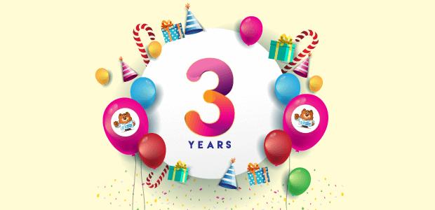 WPForms 3rd Birthday