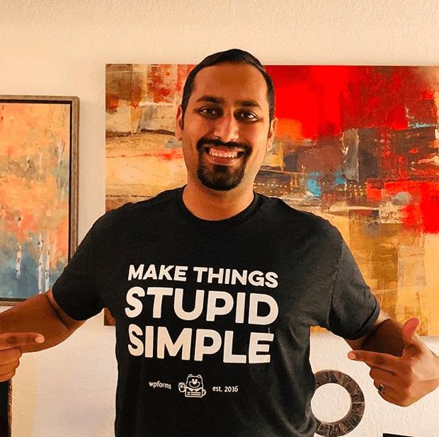 WPForms T-Shirt + Stickers