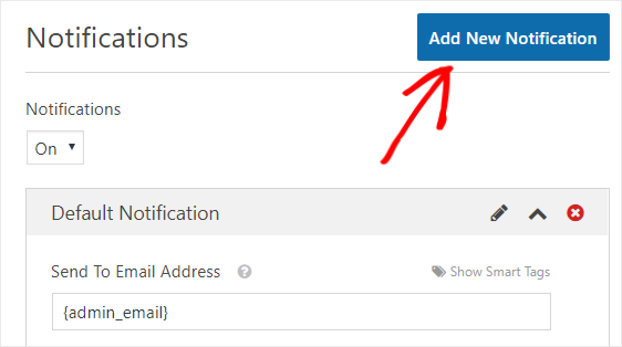 add new notification to let contact form send to multiple emails
