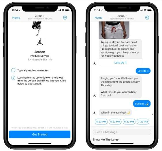 chatbot-sales-team-nike