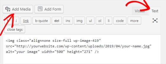 copy image code