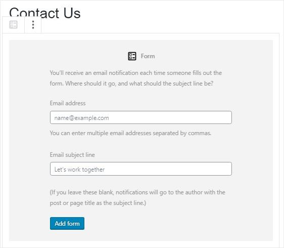 email-form-jetpack