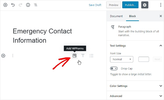 how-to-add-an-emergency-contact-information-form-to-wordpress