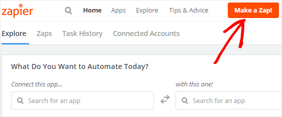 make a zap to connect iContact signup form to icontact account