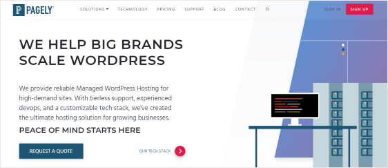 Pagely Hosting