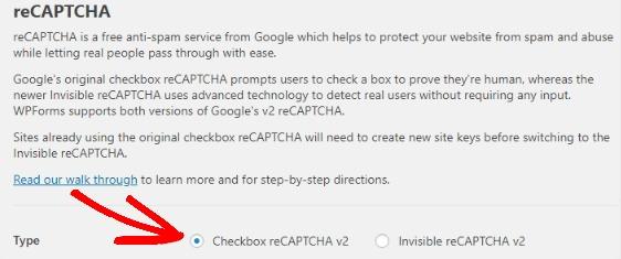 select-checkbox-recaptcha-setup