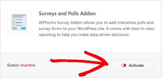 WPForms Surveys & Polls Addon for how to create nps survey form in WordPress