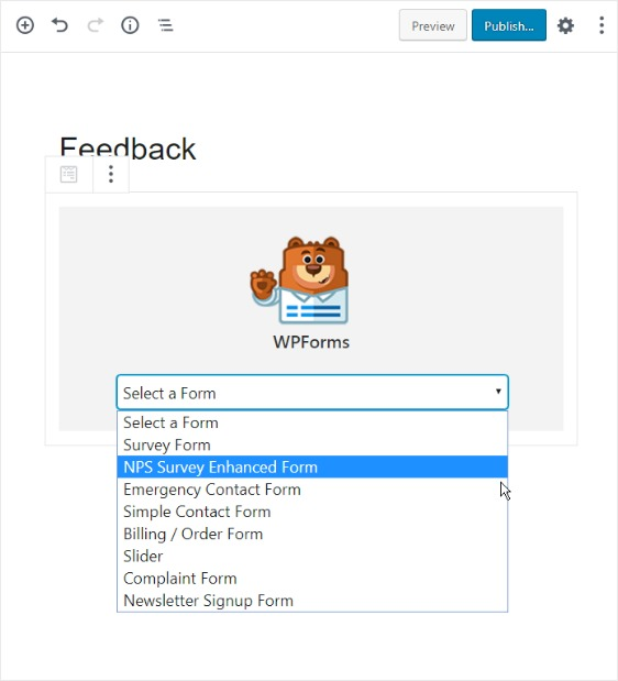 add-form-to-wordpress