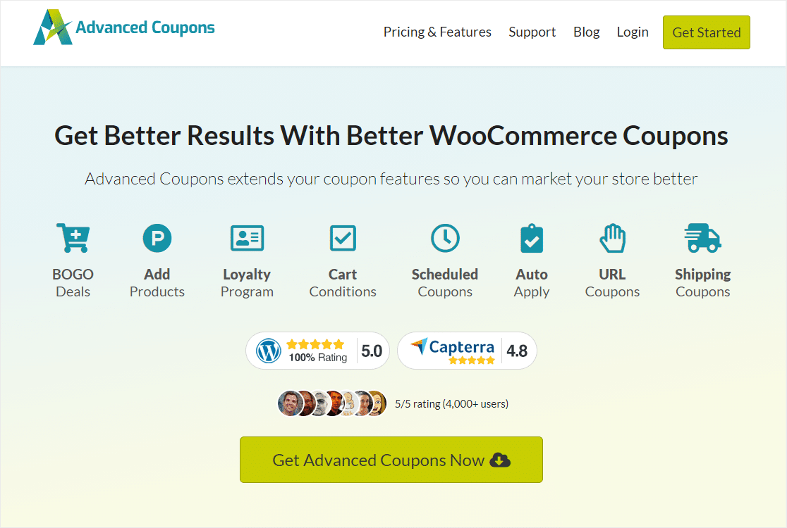 advanced coupons top wordpress woocommerce plugin