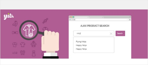yith woocommerce ajax search customization options