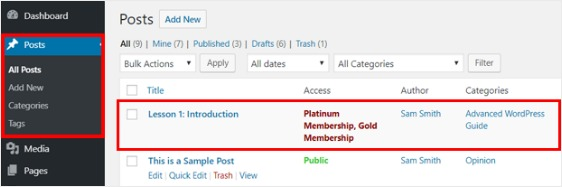 build a membership premium content