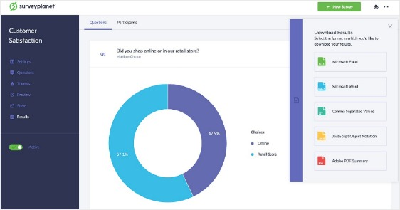 data sources tools for surveys