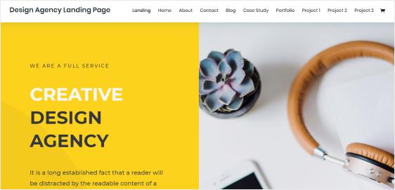 Divi Portfolio WordPress theme