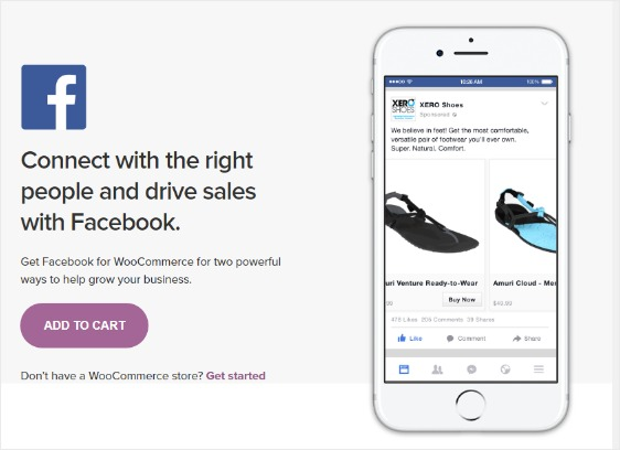 facebook ecommerce store owner