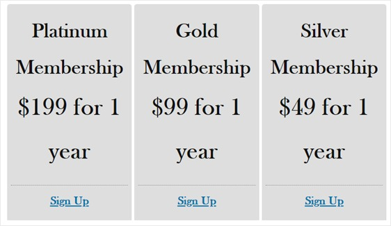 memberships page memberpress