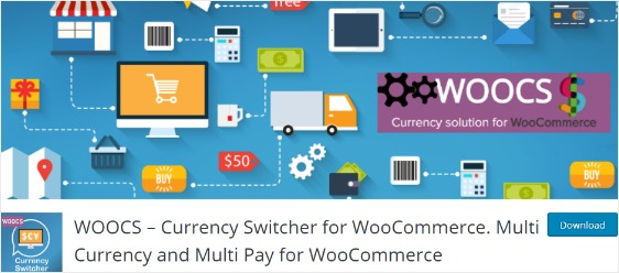 plugins for online stores woocommerce currency switcher WOOCS