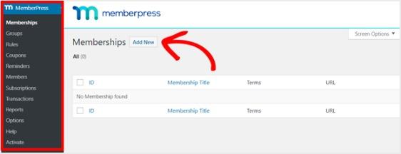 set up a membership wordpress plugin