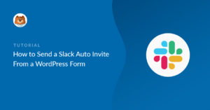 Slack auto invite