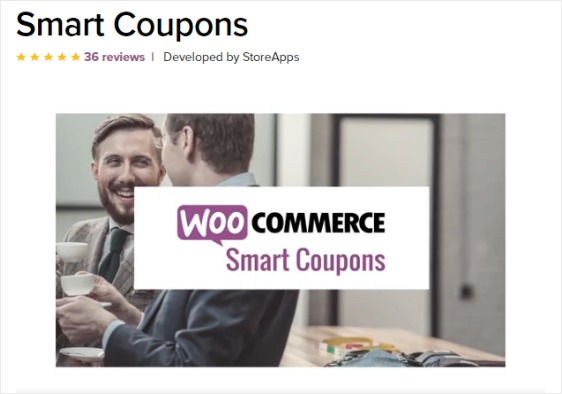 smart coupons product page