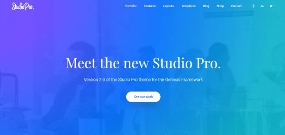 Studio Pro responsive theme