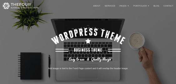 TheFour WordPress theme