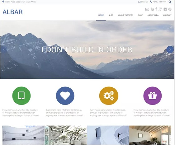 Albar by Kaira wordpress themes free download professional