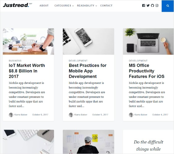 best free wordpress themes for blogs portfolio site
