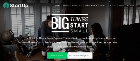 create a website online store