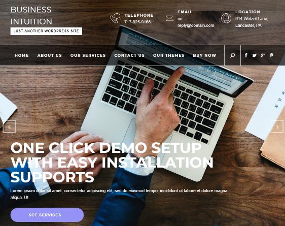 easy to customize wordpress themes free
