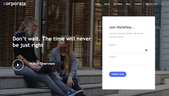 fully customizable page layouts oceanwp