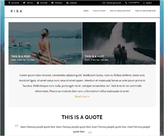 minimalist design page builders