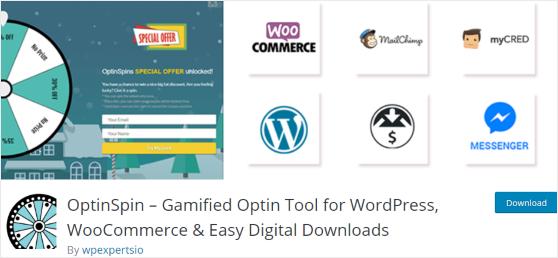 OptinSpin WordPress plugin