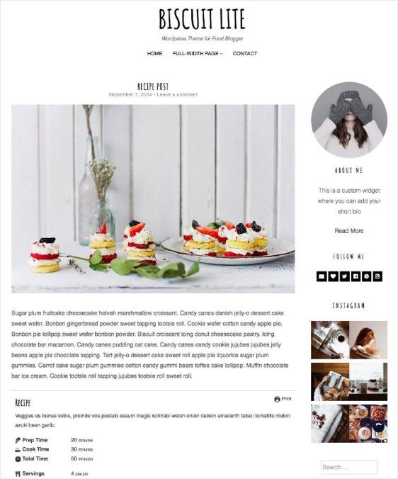 responsive design blog page