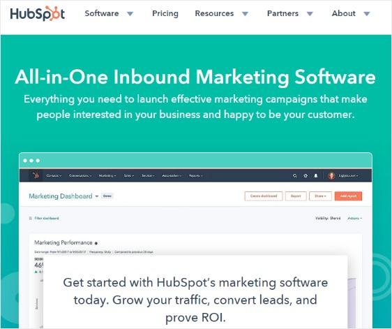social media marketing automation hubspot