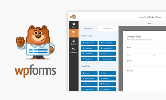 wpforms most user friendly wordpress contact form plugin in the market