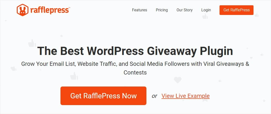 best wordpress plugins rafflepress user generated content examples