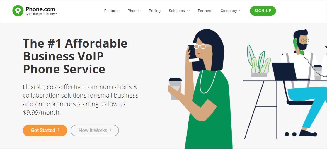 Phone.com VoIP service